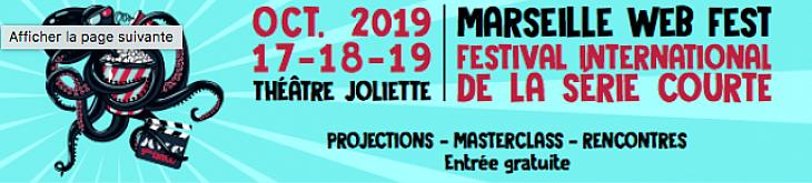 Palmarès 2019 du Marseille Web Fest, festival international de la série courte !